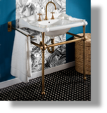 Charleston Metal Washstand
