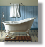 "Cast Iron ""Marie Louise"" Tub"