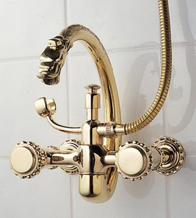 Pompadour Wall Mounted Tub Filler