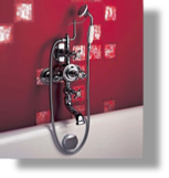 Royale Exp. Therm. Tub & Shower Mixer Wall M.