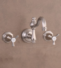 Monarque Wall Mounted 3-Hole Set
