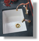 Fireclay Drop-In / Undermount Sink Large