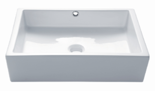 Countertop Basins with Overflow