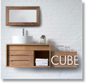 Cube Teak Collection