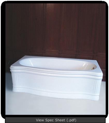 Old Time Fiberglass Tub